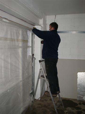 Garage door fitting service