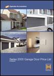 hormann series 2000 garage doors price list
