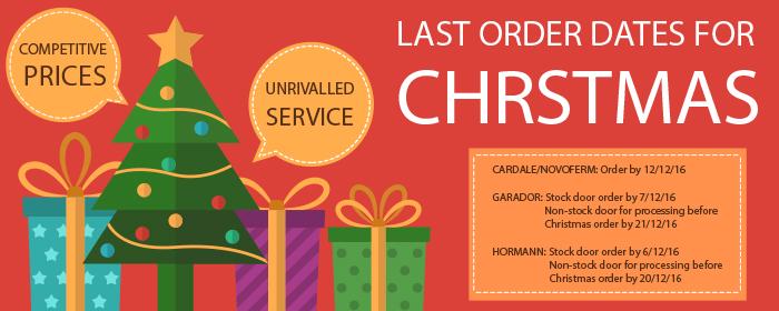 Lat order dates 2016